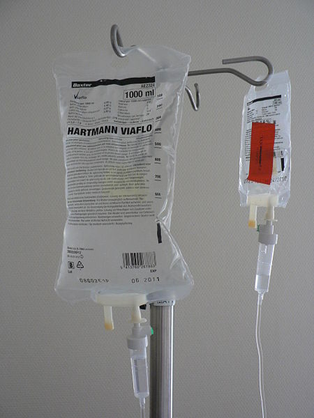 Example of IV fluids