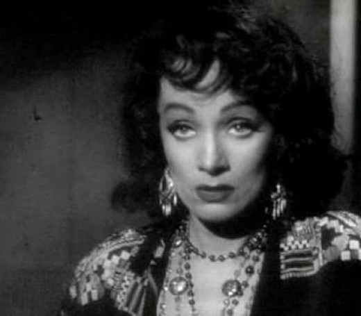 Marlene Dietrich as Tana in Touch of Evil