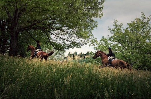 Guided and Private Horse Rides available at Biltmore