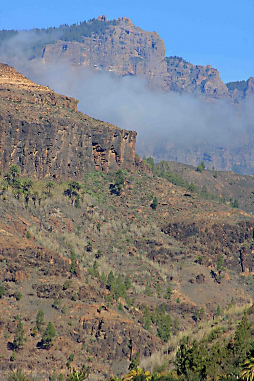 Gran Canaria : Driving in the Mountains - The History and Scenery of the Island
