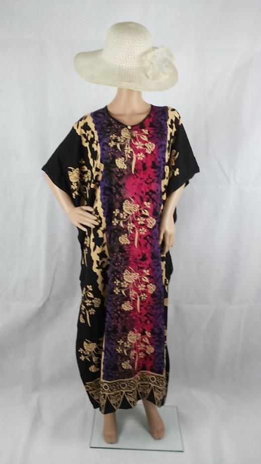 Boho Bali Pink Black.