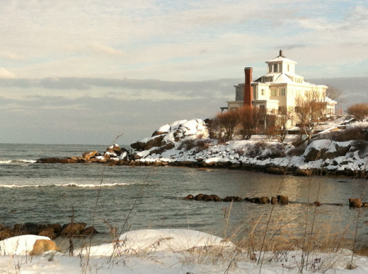 Winter at Good Harbor Beach