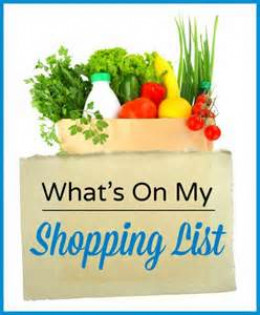 Stick to your grocery list for the sake of your grocery budget, list of meals and for nutrition's sake.