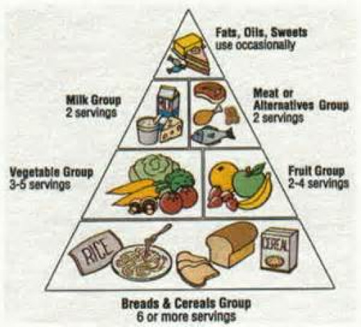 Decide upon the Food Pyramid as your guiding force for better nutrition.