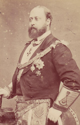 King Edward VII (1841-1910) [Edward VII Saxe-Coburg and Gotha, King of the United Kingdom] | Prince Albert of Saxe-Coburg and Gotha (1819-1861)