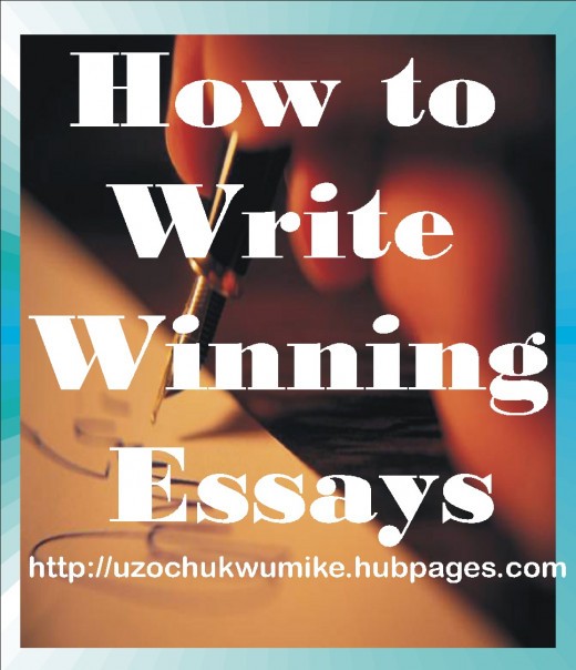 "Illustration on ""How to write winning essays"""