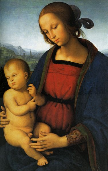 Perugino, Madonna with Child (a. 1500), Washington National Gallery