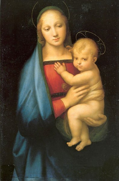 Raphael, Madonna of the Grand Duke (a. 1506), Florence Palazzo Pitti