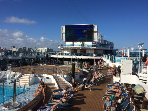 Cruise Ship Ammenities