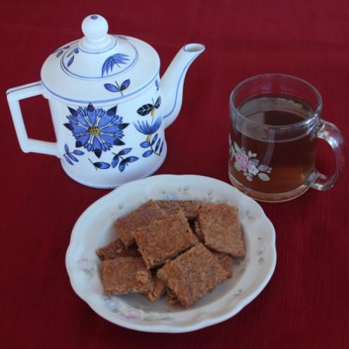 Diabetic Ginger Snaps and Herbal Tea