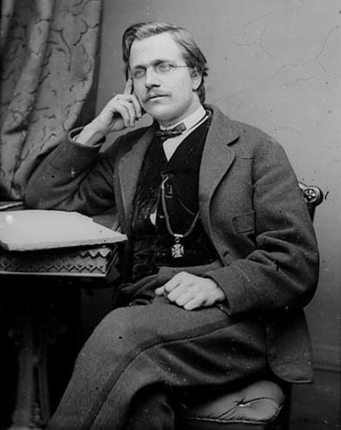 Joseph Parry (1841-1903), composer, circa 1875