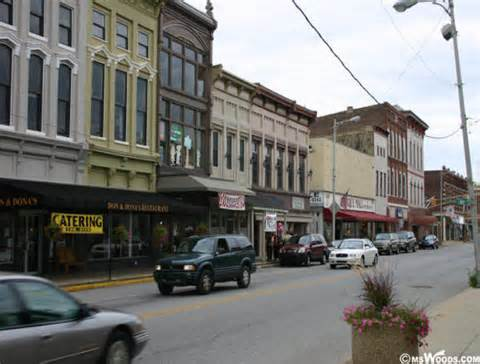 Downtown Franklin, Indiana