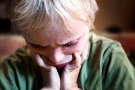 Child with autism escalating
