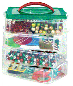 Craft Storage Containers with Handles