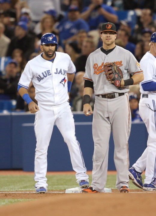 Chris Davis and Jose Bautista have been able to hit homeruns in an era where power has not come easy.
