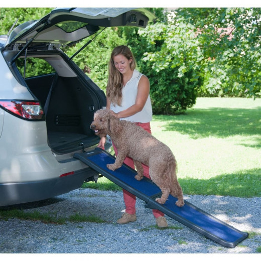 Pet Gear Travel Lite Bi-Fold Half Ramp for cats and dogs-SUV