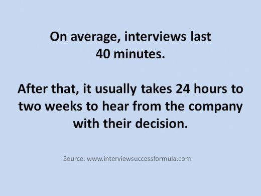 If your interviewer wraps up the meeting much sooner than the average length of a job interview, it might be because you've made a bad impression. Perhaps the employer has already decided that you are not the right candidate for the job.