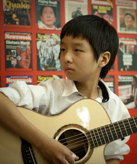 Sungha Jung at 12-years old.