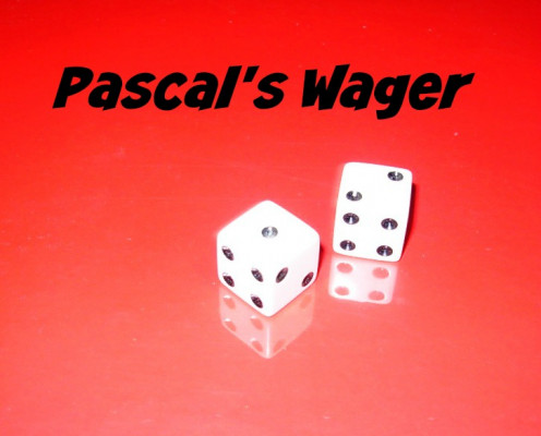 a critique of pascals wager on the existence of god Finally, the biggest of pascal's stumbling blocks: the probability of god's existence this one is a bit more complicated, but i'll try and break it down for you as i said, i assign a probability of 0 to the existence of god.