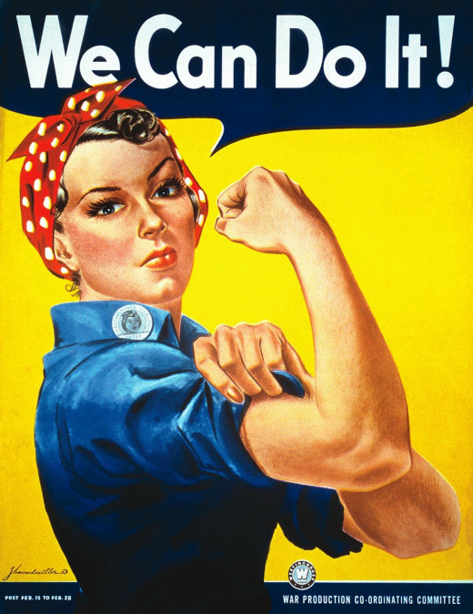 Rosie the Riveter wasn't afraid to do a man's job! So don't be afraid to ask for the raise you deserve!
