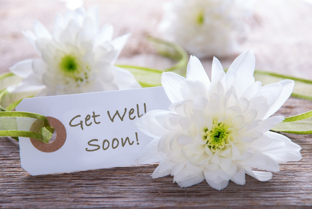 Get well card messages wishes