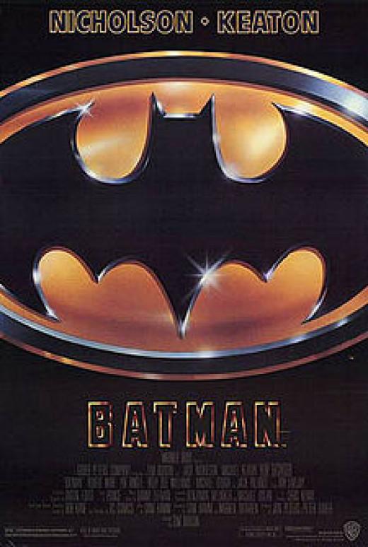 Michael Keaton as Bruce Wayne/Batman (1989) in Batman.