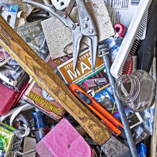 The things in your junk drawer might be more useful then you think!