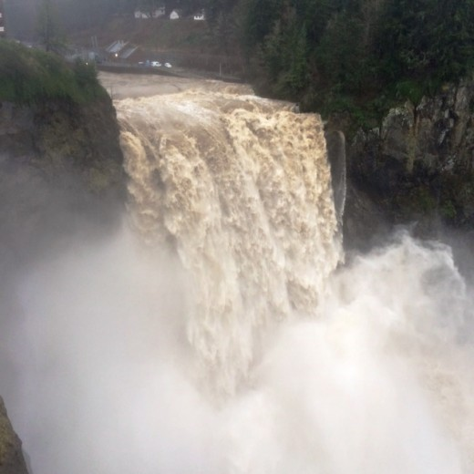 Snoqualmie Falls January 5, 2015