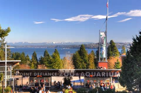 Set amongst a backdrop of the Puget Sound and Mount Rainier