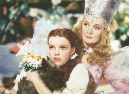 "Dorothy and good witch Glinda have an important bond in ""The Wizard of Oz"" -- one of the most popular movies of all time."
