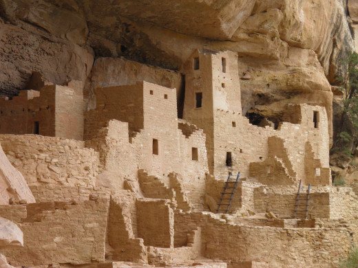 Cliff Palace, the largest ruin in the Mesa Verde Archaeological Park