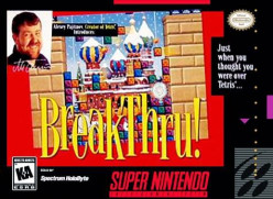 Retro Game Review: Breakthru! for SNES