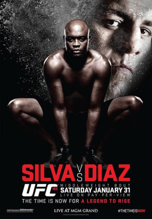 Fight Poster of Silva vs Diaz