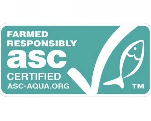 Look for Aquaculture Stewardship Council label when choosing fish