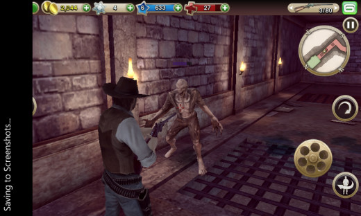 Zombies in a western shooter game? Duh