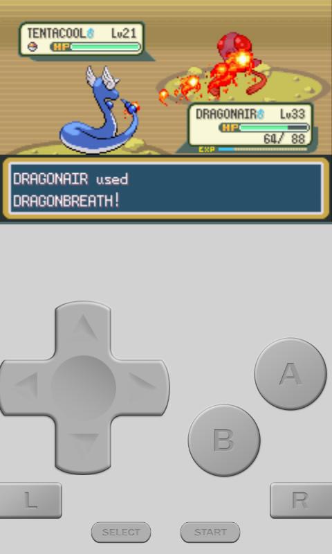 Playing vertically. Go Dragonair!