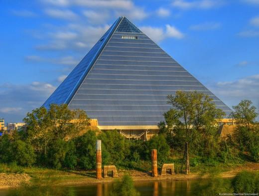 Memphis arena pyramid