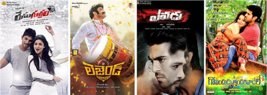 Highest grossing Telugu movies 2014