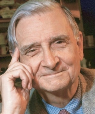 E. O. Wilson, father of Sociobiology