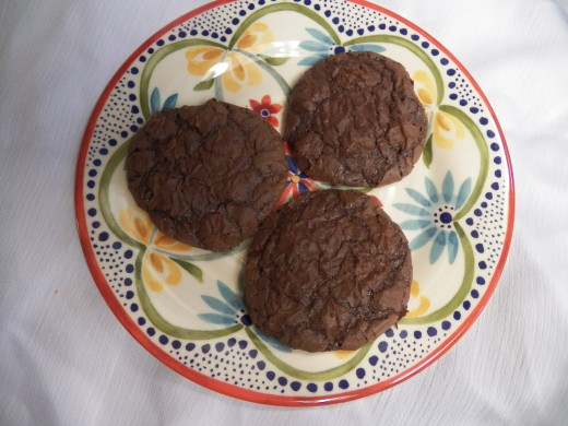 Brownie Cookies from Mix are fast and easy.