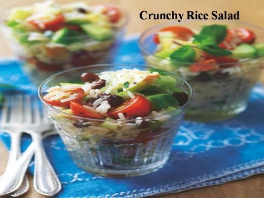 Crunchy Rice Salad