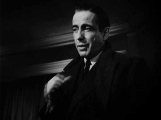 "Humphrey Bogart as Sam Spade in ""The Maltese Falcon"" (1941)"