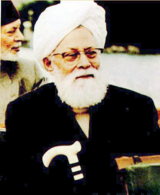Hazrat Mirza Bashiruddin Mehmud (may Allah be pleased with him) 1889-1965, the Second Caliph of The Ahmadiyya Muslim Community