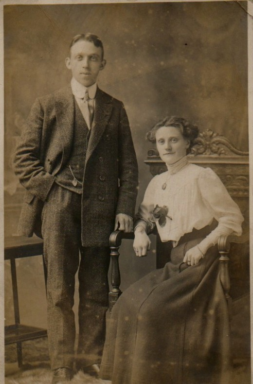 Family History: my paternal Grandparents
