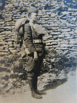 WW I Soldier's Letter to an Army Buddy