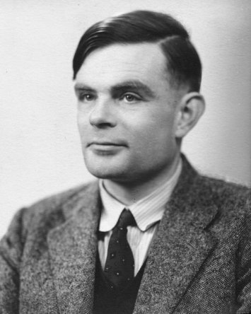 Alan Turing, a pioneer of computer science, mathematics, and logics