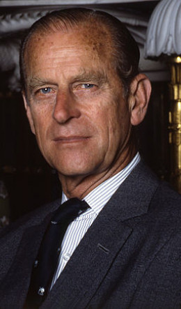 Photograph of Prince Philip in 1992