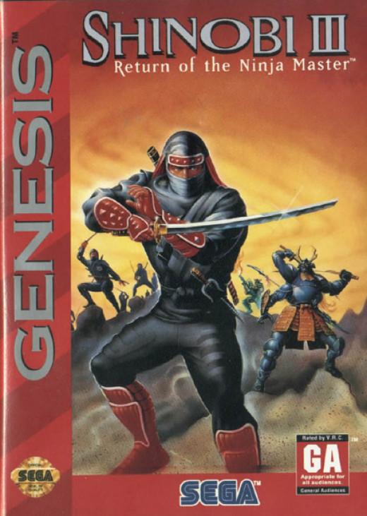 Shinobi 3 was the final installment in the Shinobi video game series.