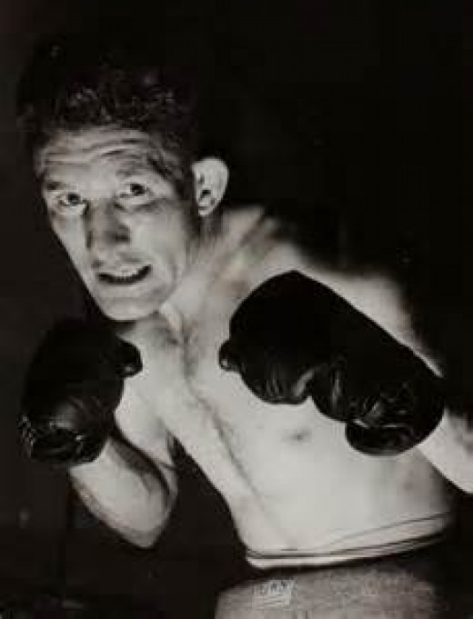 Lew Jenkins was a terrific fighter and the former lightweight world champion. Jenkins had a bunch of heart and always took on all comers.