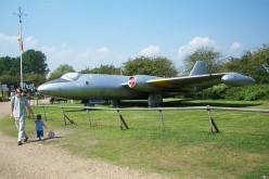 Flixton Air Museum English Electric Canberra T.4